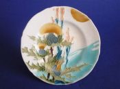Minton Secessionist Ware 'Thistles' Plate c1904